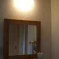 洗面所の照明