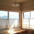 ダイニングの窓のカーテン