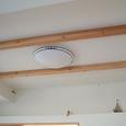 リビングの天井と照明
