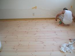 我が家の床